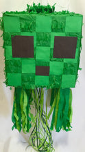 Load image into Gallery viewer, APINATA4U Creepy Cube Pull Strings Pinata Video Game Party Favor
