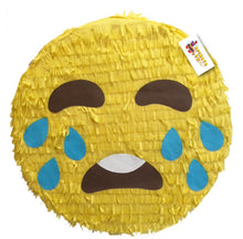 "Load image into Gallery viewer, APINATA4U Emoticon Pinata 16""  Emoticon Party Favors, Crying Emoticon"