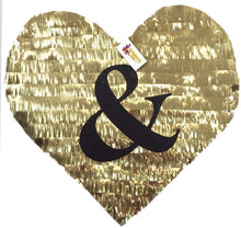 Load image into Gallery viewer, APINATA4U Heart Piñata Ampersand Symbol