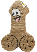 "Load image into Gallery viewer, Ready to Ship Pecker Pinata 24"" Tall Tan Color Bachelor Bachelorette Party Favors Gag Gifts"