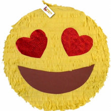 "Load image into Gallery viewer, APINATA4U Emoticon Pinata 16""  Emoticon Party Favors, Smiley Pinata"