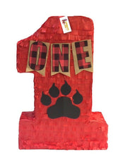 Load image into Gallery viewer, APINATA4U Number One Pinata for Lumberjack Theme Party Lumberjack Party Favor