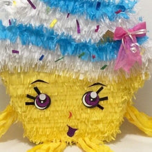 Load image into Gallery viewer, Cupcake Pinata, Can be used for a Shopkins Party!