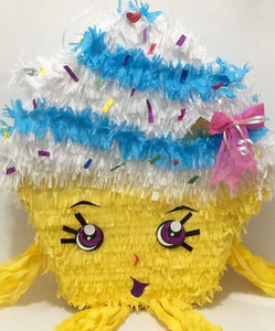 Cupcake Pinata, Can be used for a Shopkins Party!
