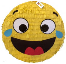 "Load image into Gallery viewer, APINATA4U Emoticon Pinata 16""  Emoticon Party Favors, Laughing Emoticon"