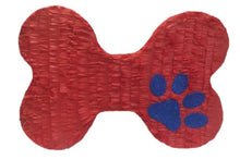 Load image into Gallery viewer, Huge Dog Bone/ Dog Treat Pinata, Red Color