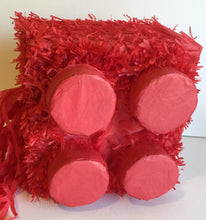 Load image into Gallery viewer, Red Brick Pinata Building Block Pinata