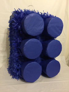 Large Blue Brick Pinata, Building Block Pinata, Building Block Party Supplies