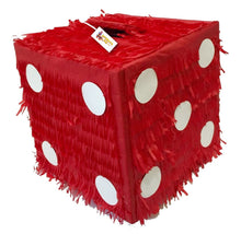 Load image into Gallery viewer, APINATA4U Red Dice Pinata