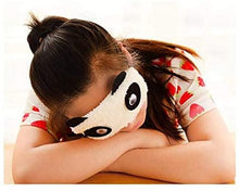Load image into Gallery viewer, Comfortable Plush Blindfold Mask Cartoon Panda Style
