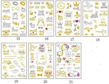 Load image into Gallery viewer, Tattoo Sticker Gold Stick for Bachelorette Party
