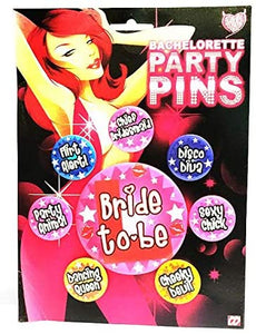 Bachelorette Party Pins for Fun | Hen Party Pins