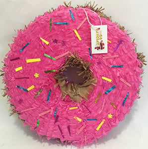 estherscreations Hot Pink Doughnut Pinata 16""
