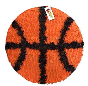 "APINATA4U 2-D Basketball Pinata 16"" Basketball Party Favor"