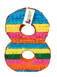 APINATA4U Large Number Eight Pinata for Fiesta Theme Party