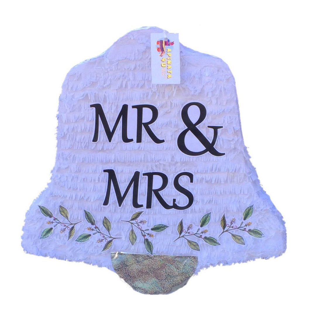 Mr & Mrs Wedding Bell Pinata 19
