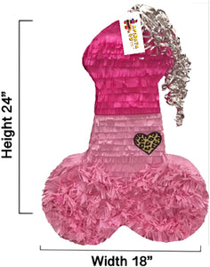 Large Pink Penis Pinata Diva Themed Bachelorette Adult Party Over The Hill Gag Gift