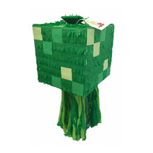 Load image into Gallery viewer, Green Box Pinata Handcrafted Custom Fully Assembled Ready to USE