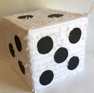 White Dice Pinata