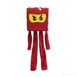 Ninja Pinata Red Color