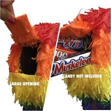 Load image into Gallery viewer, APINATA4U LLC - Large Penis Adult Pinata | Rainbow Colors | Ideal for Bachelorette Party | Made with High Quality Cardboard | for Fun, Party & Game | Size - 2ft Approx | Easy to Use & Fill