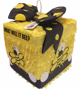 Sale! Ready to Ship What will it bee? Gender Reveal Block Pinata