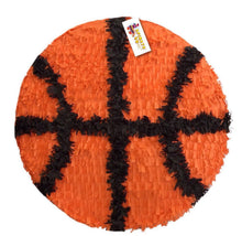 Load image into Gallery viewer, Large 2-D Personalized Basketball Pinata 19""