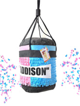 Load image into Gallery viewer, 3-D Boxing Bag Pinata Punching Bag Pinata Fitness Gender Reveal Pinata