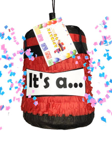3-D Boxing Bag Pinata Punching Bag Pinata Fitness Gender Reveal Pinata