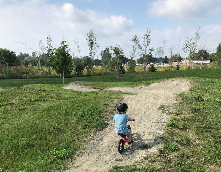 Ontario Kid Friendly Pump Tracks and Bike Parks