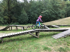 Gibsons Sprockids bike skills area - great for kids and adults