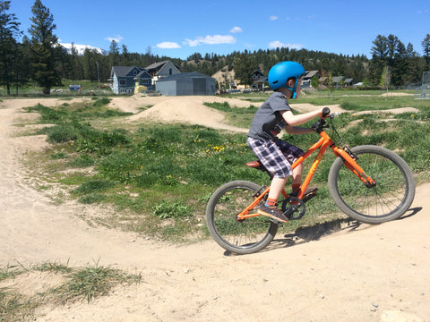 "Invermere Pump Track - Cleary Owl 20"" youth / kid mountain bike"