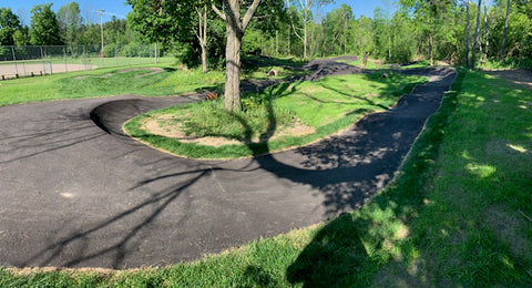 Alton, Caladon Ontario Kid Friendly Pump Track