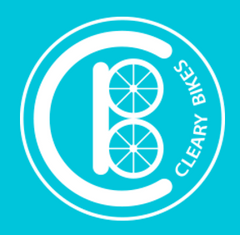 Cleary Bike Logo light blue