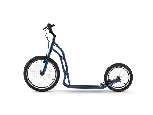 Adult Yedoo S2016 Kickbike in blue - Steel scooter