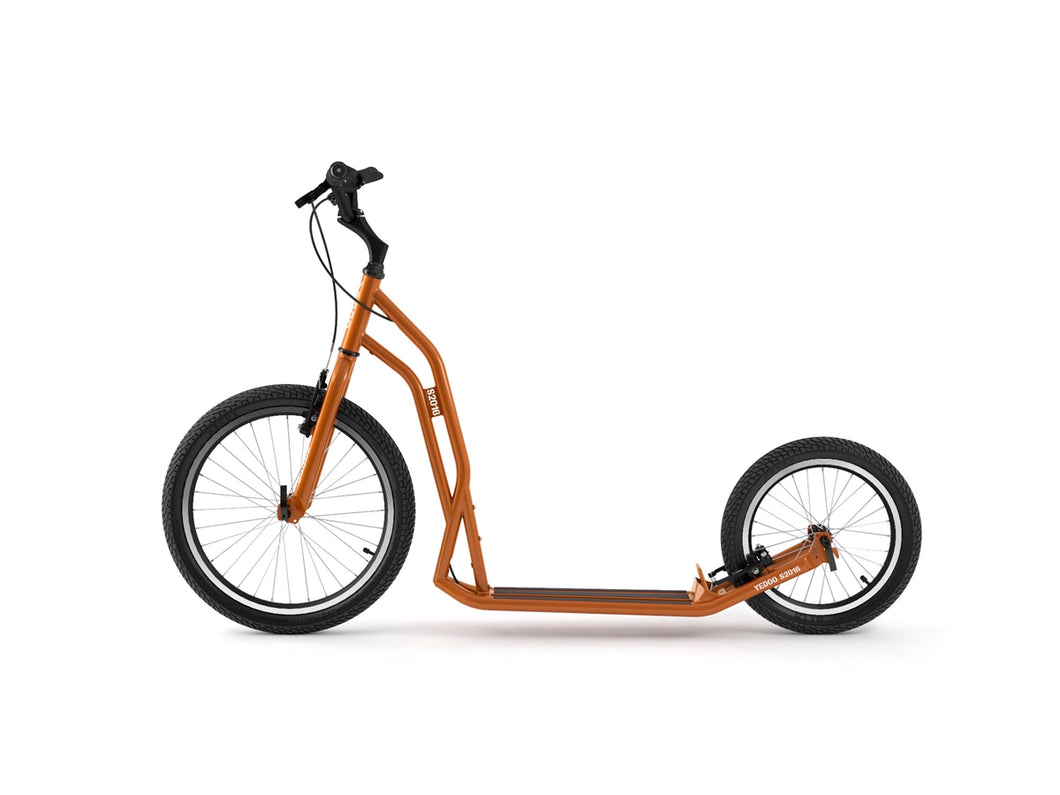 Adult Yedoo S2016 Kickbike in orange - Steel scooter