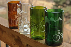 Bike Glasses - from recycled beverage bottles