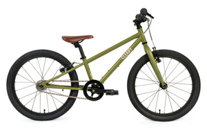 "Green Kids Bike 20"" Cleary Owl Single Speed Pump tack Bike"