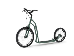 Adult Yedoo S2016 Kickbike in green - Steel scooter