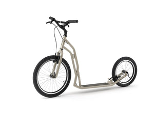 Adult Yedoo S2016 Kickbike in creme - Steel scooter