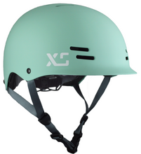 Kids and adults bike and skateboard helmet Aloe Green - by XS Unified