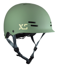 Kids and adults bike and skateboard helmet Moss Green - by XS Unified