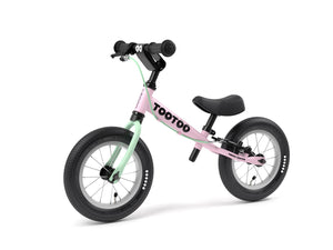 Candy pink Yedoo TooToo child's balance bike - similar to Strider run bike for kids