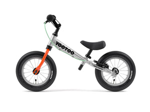 Aluminum Yedoo YooToo child's balance bike orange fork - similar to Strider run bike for kids