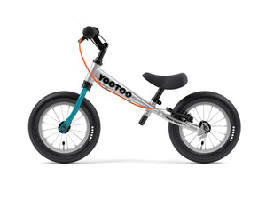 Aluminum Yedoo YooToo child's balance bike blue fork - similar to Strider run bike for kids