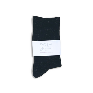 Black Sparkle sock by XS Unified