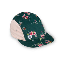green floral 5 panel adult hat by XS Unified