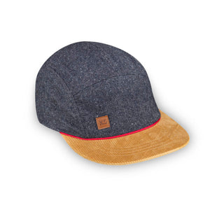 Wool harvest 5 panel kids hat by XS Unified