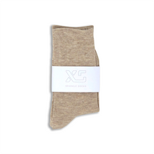 Oat Sparkle sock by XS Unified
