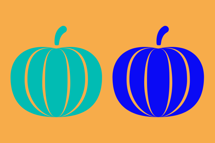 Multi-Color Halloween: Pumpkins with a Message